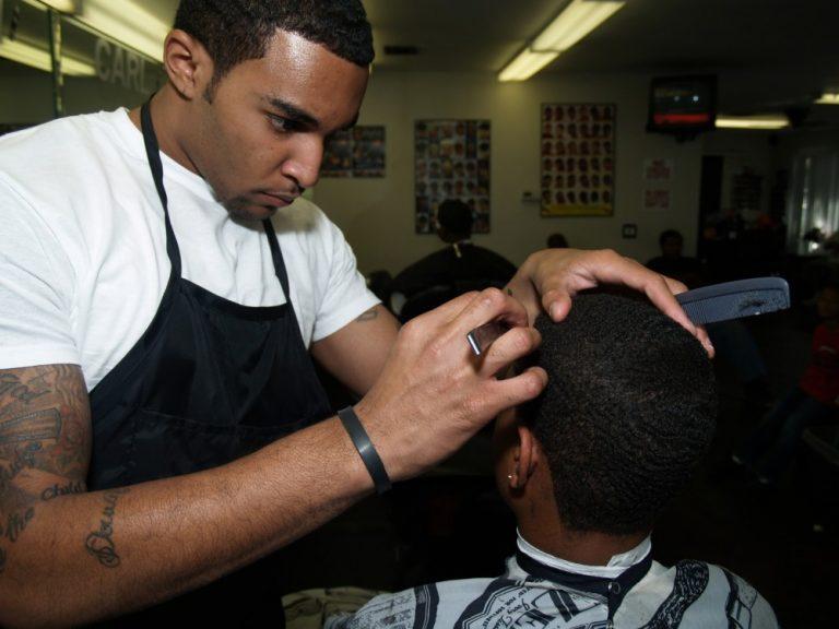 Barbing salon
